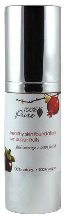 100 pure foundation