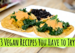 3 Vegan Recipes You Have to Try (Videos)