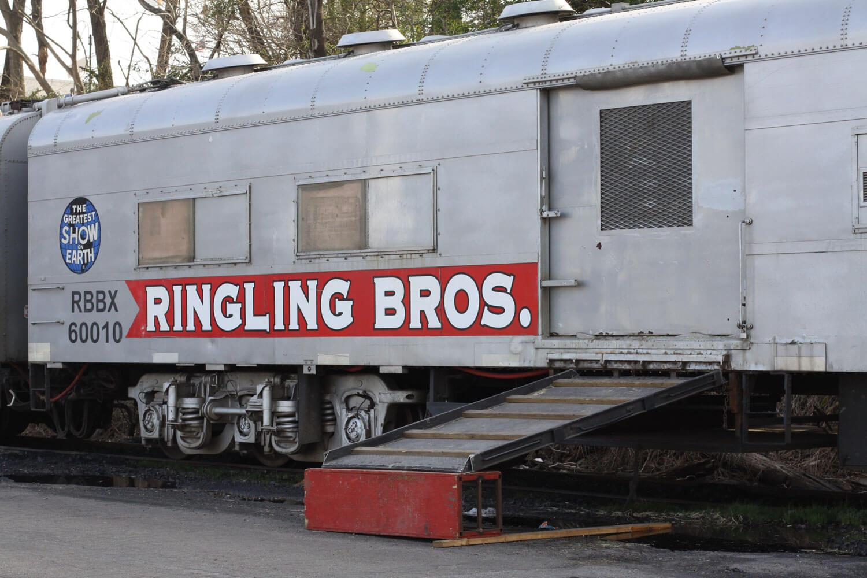 ringling box car/trailer