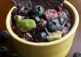 Blueberry-Avocado Salsa