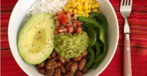 Bowl de Burrito Vegano
