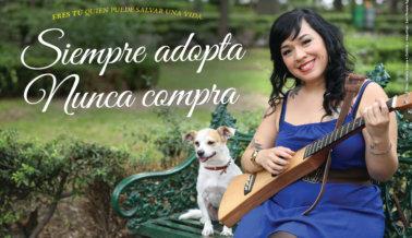 Carla Morrison: Adopta, no Compres