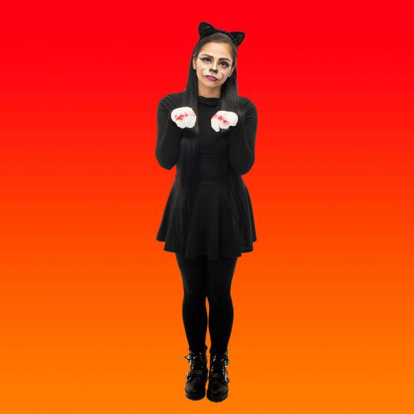 declawed cat costume