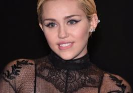 Miley Cyrus Is PETA's Sexiest Vegetarian Celebrity of 2015!