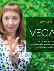 Natalia Clavier: Soy vegana