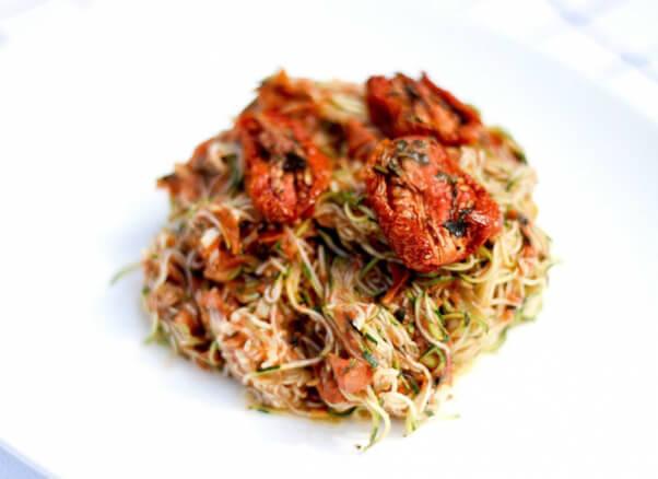 Raw-Vegan-Zucchini-Marinara-Pasta
