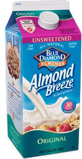 almond breeze almond milk
