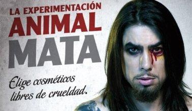 Dave Navarro: Compra Productos Libres de Crueldad