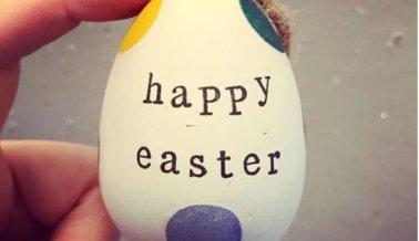 Cómo decorar huevos de pascua, sin matar pollitos