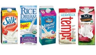 5 leches veganas que tienes que probar