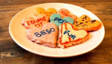 ¡Dulces veganos para tu amor!