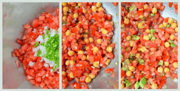 garbanzo salad from mmmole