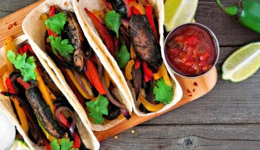 Tacos de Fajitas Veganas
