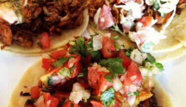 Tacos de yaca