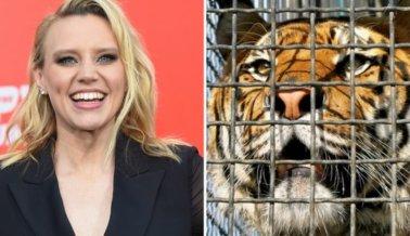 Pedido a Kate McKinnon: No Usen Animales en la Serie Guionizada 'Joe Exotic'