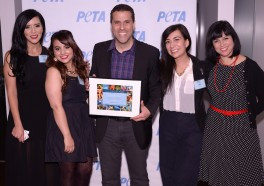 Marco Antonio Regil Wins PETA's Hero to Animals Award