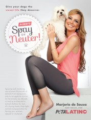 Marjorie de Sousa: Always Spay and Neuter!
