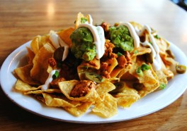 Nachos With Vegan Cheese