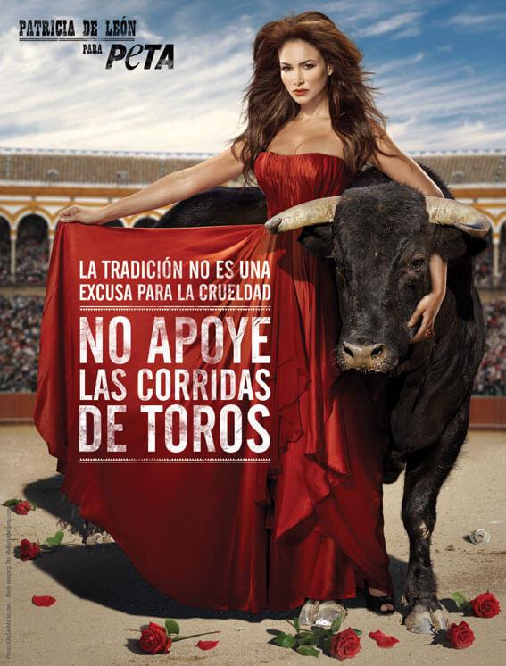Patricia de León: No apoye las corridas de toros