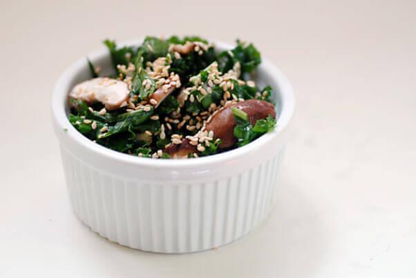 raw-shiitake-kale-salad