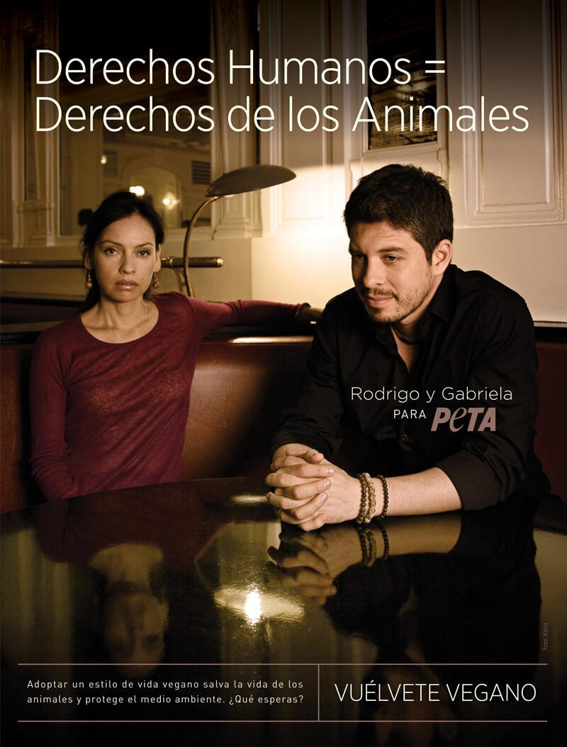 Rodrigo y Gabriela: Vuélvete vegano
