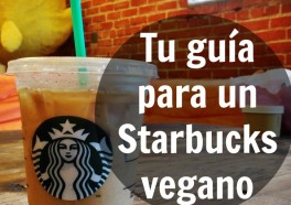 Tu guía para un Starbucks vegano
