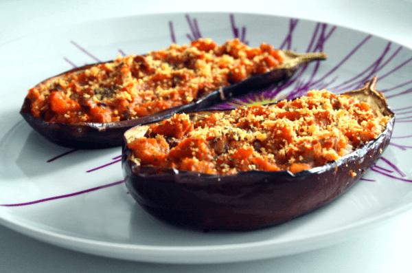 stuffed eggplants from beginveganbegun