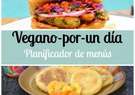 Planificador de menús Vegano-por-un día