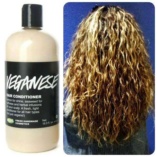Tratamiento para cabello rizado maltratado