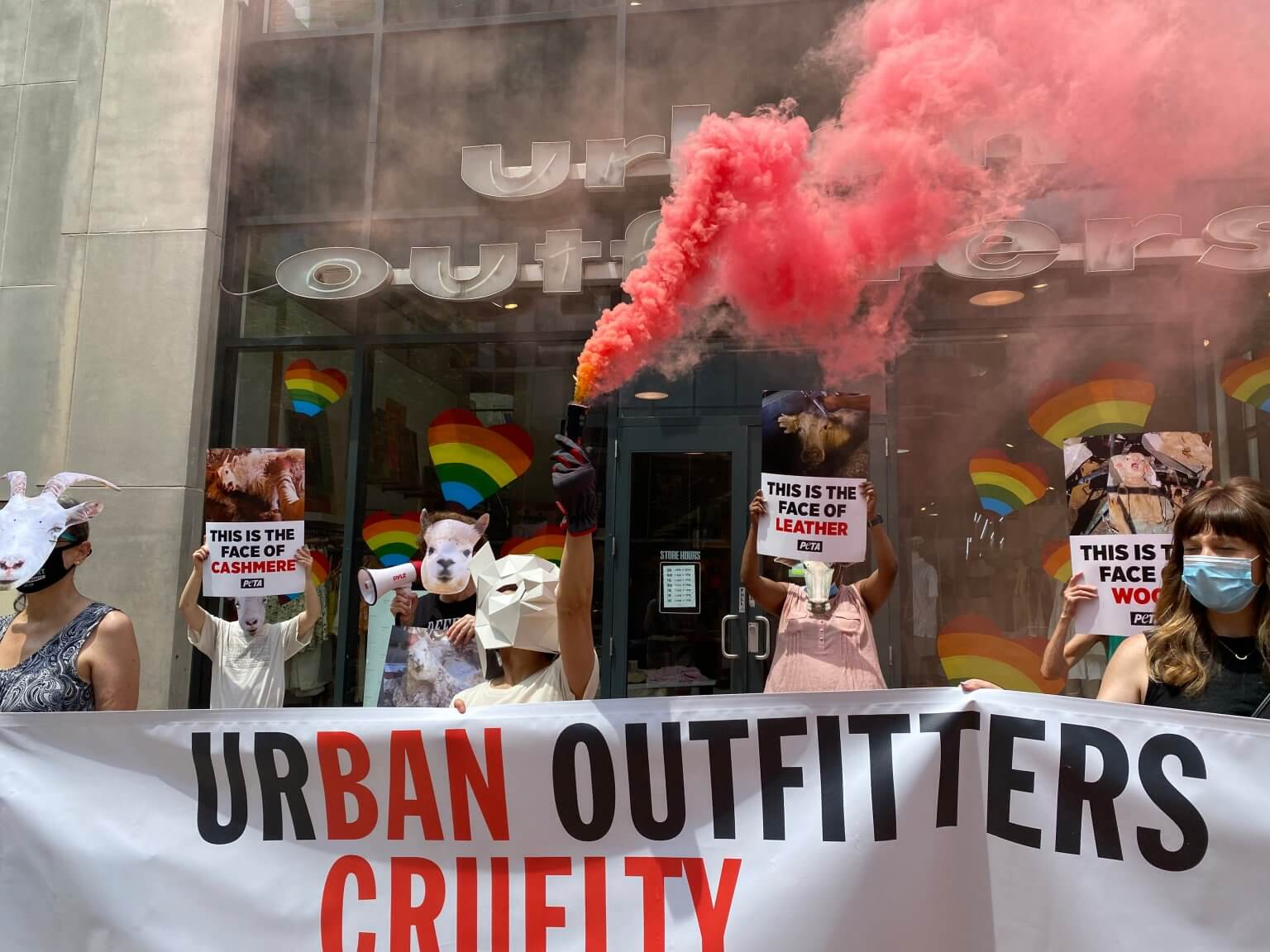 Urban outfitters Protest